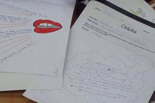 Grafické organizéry baví i středoškoláky - Záznamy z četby pomocí grafických organizérů (L. Krejsová)
