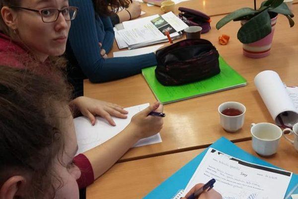 Grafické organizéry v literárním semináři - Záznamy z četby pomocí grafických organizérů (L. Krejsová)
